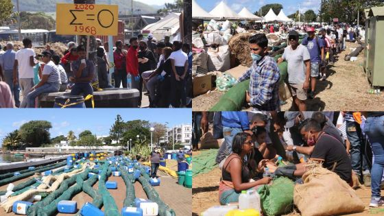 [En images] Wakashio : des bénévoles pour sauver nos lagons