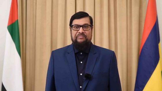 Showkutally Soodhun présente ses lettres de créance à Sheikh Mohammed bin Rashid Al Maktoum