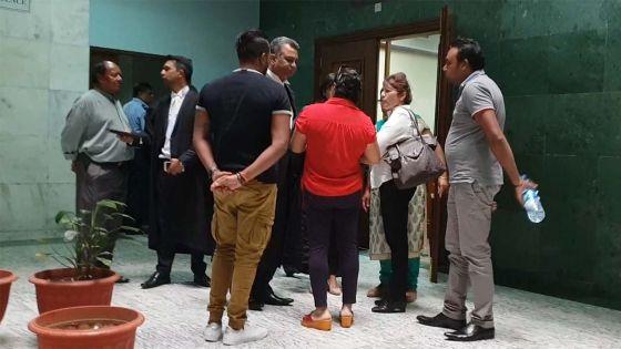 Remise en liberté du fils de Nandanee Soornack, la police craint un départ vers l'étranger