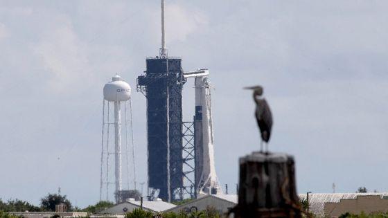 A la veille du décollage, les premiers passagers privés de SpaceX sont sereins