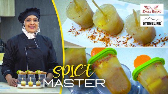 Spice Master : le froid version douceur avec le 'sorbet tamarin' en bâtonnets