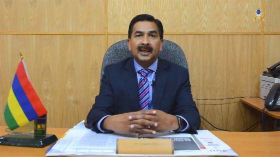 [Vidéo] Se protéger contre le Covid-19 : voici les conseils du Dr Sudesh Kumar Gungadin aux policiers
