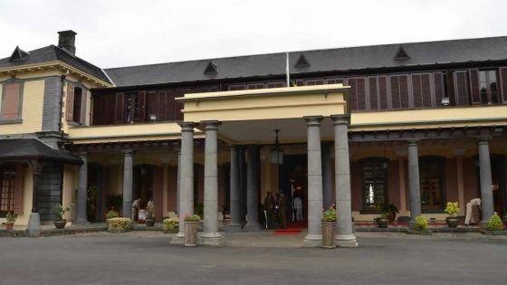 La State House réaménagée au coût de Rs 44 millions