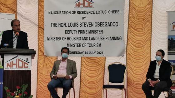 Steven Obeegadoo : « 1 050 maisons livrées depuis l'arrivée du nouveau gouvernement »