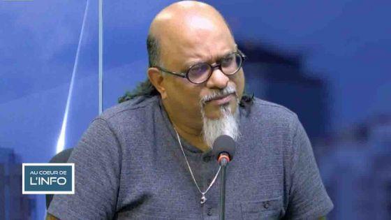 Ashok Subron dans l'émission Au Coeur de l'Info :«Nos idées coïncident, mais cela ne change pas notre opinion de l'opposition»