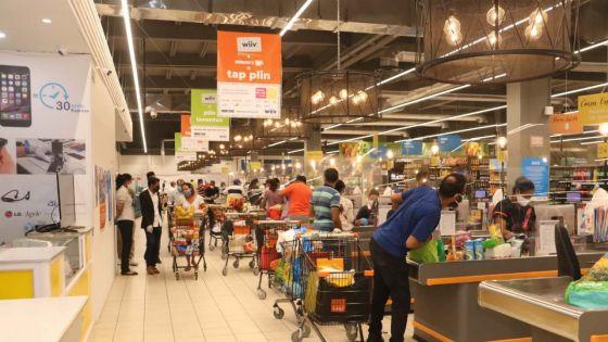 Réouverture des supermarchés : 100 000 personnes ont fait leurs achats ce jeudi