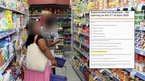 Réouverture des supermarchés et boutiques : voici ce qu'il faut retenir