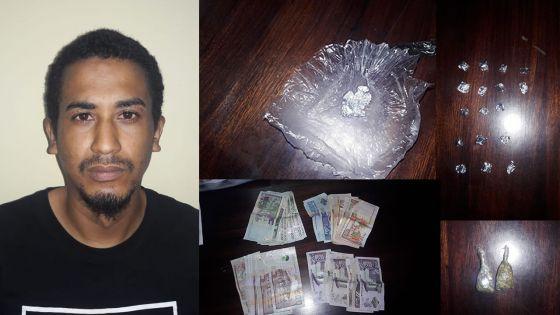 «Gandia la pou mo consomme sa misié, brown la mo tras ene la vie ek sa», confie un suspect après son arrestation