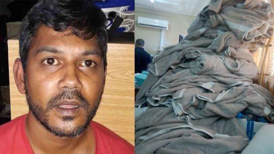 Grand-Gaube : des draps, serviettes et couvertures valant Rs 1,2 M volés dans un hôtel