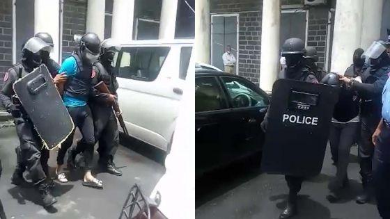 Policière tuée lors d'une «controlled delivery» : Meerkhan et Carman devant la justice sous forte escorte policière