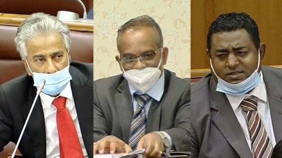PMQT : le leader de l'Opposition, Arvin Boolell et les députés Nuckcheddy et Armance expulsés
