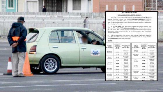 Les tests de conduites, oraux et pratiques, se feront par phases à partir du 4 juin, voici les détails