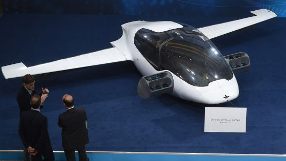 Une entreprise allemande veut créer des taxis volants