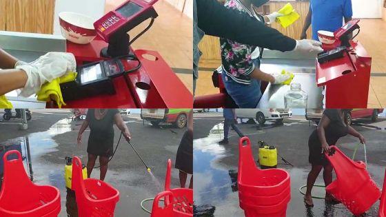 Supermarchés : l'heure est au grand nettoyage