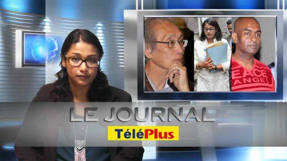 Le Journal TéléPlus : acculée par la commission d'enquête sur la drogue, Roubina Jadoo-Jaunbocus fond en larmes