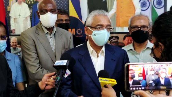 Pravind Jugnauth : «Salim Abbas Mamode a officiellement rejoint le MSM»