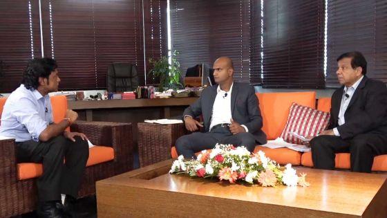 Polémique autour du Metro Express : Nando Bodha s'explique, Xavier-Luc Duval fait entendre ses arguments