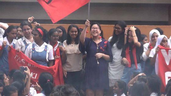 Cathy Chue Chong, lauréate du collège Droopnath Ramphul : « Avoir un papa cordonnier et une maman femme au foyer n'est pas un obstacle »
