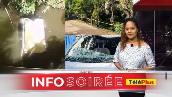 [Info Soirée] Chute d'une voiture à Tamarind Falls : un guide se trouvait à bord
