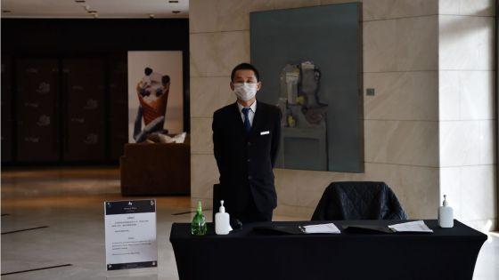 [En images] A Wuhan, dans un hôtel fantôme hanté par le virus