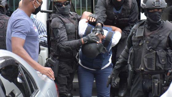 Policière tuée lors d'une opération de l'Adsu : forte présence policière lors de la comparution de  Wazil Ally Meerkhan devant la justice