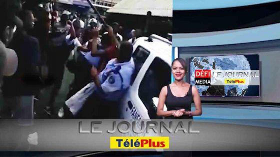 Le JT – Affrontements entre collégiens et policiers à la gare du Nord à Port-Louis