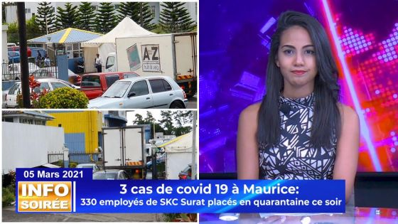 [INFO SOIREE]: 330 employés de SKC Surat placés en quarantaine ce soir