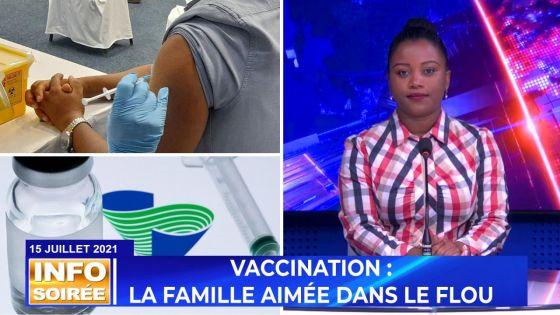 [INFO SOIRÉE] : «Nu pense line perdi la vie akoz vaccin»