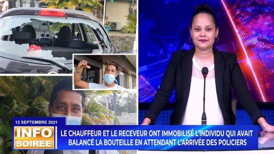 [Info Soirée] : Incivisme caractérisé : un passager dans un bus balance sa bouteille de bière sur la vitre arrière d'une voiture avec un bébé à bord