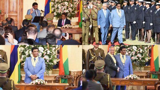 [En images] Pradeep Roopun devient le 7e président de la République de Maurice