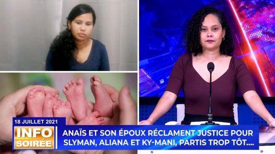 [Info Soirée] : Elle perd ses triplés après des accouchements difficiles à l'hôpital de Rose-Belle : « zanfan la zot ti bizin la avek mwa… », confie Anaïs