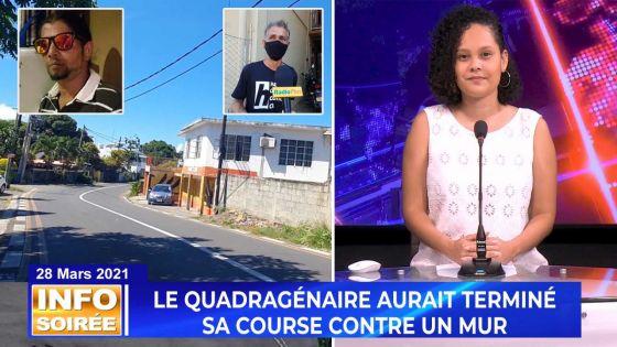 [Info Soirée] : Accident à Cap-Malheureux : Jérôme Jovani Chan Yuk Han laisse derrière lui un fils de 12 ans