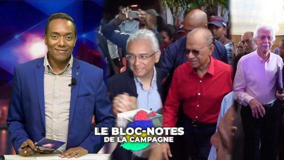 Bloc-notes de la campagne : la dernière virée des leaders !