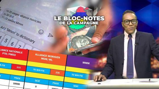 Bloc-notes de la campagne - «Paris politiques» : de grosses mises enregistrées