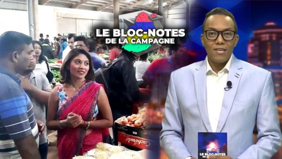 Bloc-notes de la campagne : Anishta Babooram déçue : «un miracle» si la candidate PTr-PMSD qui la remplace est élue en 2 semaines, dit-elle