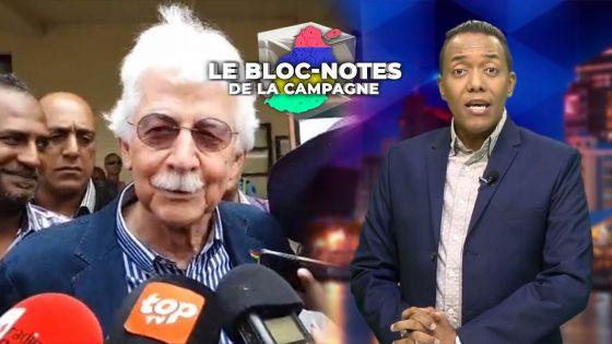 Bloc-notes de la campagne - Paul Bérenger : «Le MMM ne sera pas le king maker, mais le king»