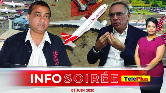 [Info Soirée] Air Mauritius : «Sindikalis divize, saken pe rod so bout», dit Reaz Chuttoo