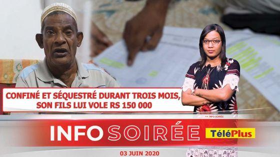 [Info Soirée] Acoob Soosar : «Mo santi parfin manze pe kwi, zot donn mwa zis dipin ek dite»