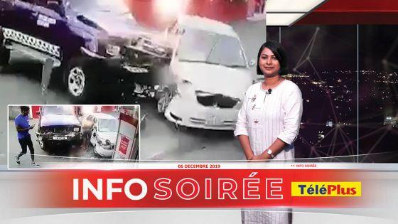 [Info Soirée] Chasse à l'homme à Goodlands : collision entre deux voitures, deux policiers blessés