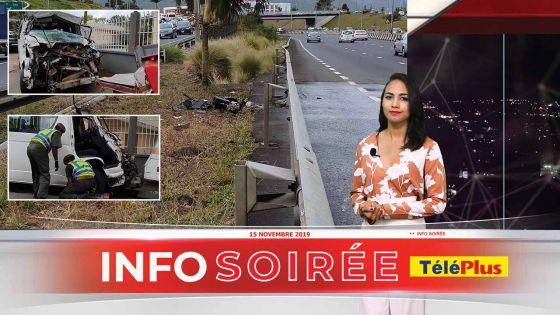 Info-soirée : 125e victime de la route, Devduth Bangaroo, 57 ans, extrait de son minibus