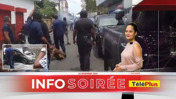 Info-soirée : Coups de feu tirés lors d'une opération de l'ADSU à Ste-Croix, des habitants s'opposent à la saisie d'un véhicule
