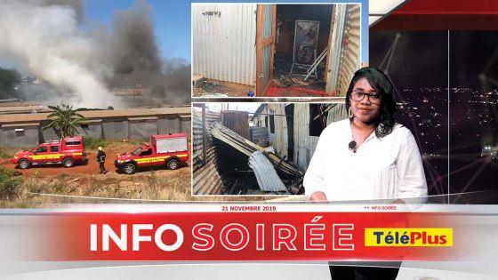 [Info Soirée] : Soupçons d'incendie criminel à Baie-du-Tombeau : «Dife fine pran dan de plas en mem tan»