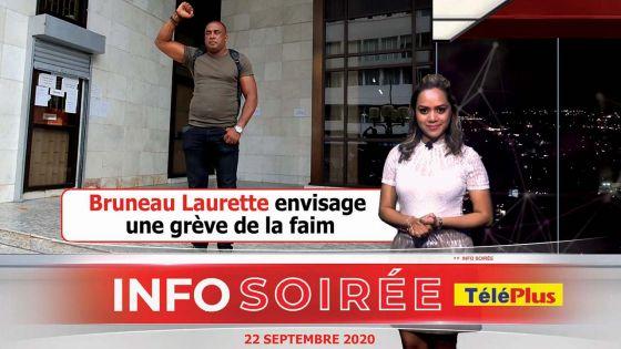 Bruno Laurette : « Zour ki mo pou tape, tou pou tombe »