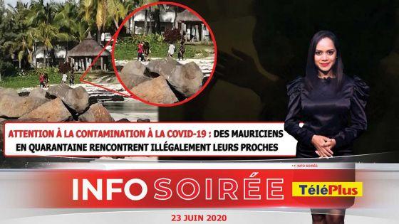 [Info Soirée] : «Dimounn pe sote miray pe ale, nou per isi»