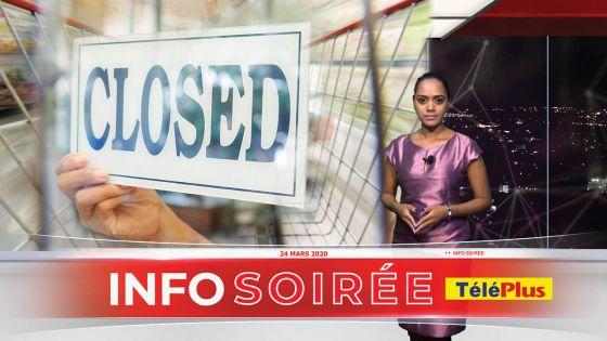 Lockdown total : Boutiques, supermarchés et boulangeries fermés jusqu'au 31 mars