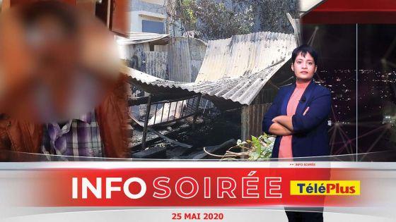 [Info Soirée] : Incendie au Morne : « Mo ti sipoze ress ar zot, mwa kinn aste labouzi » confie l'ami des deux victimes