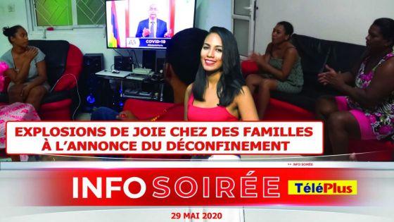 [Info Soirée] : «Confinement finn fatig nou 72 zour...Dime pe libere ek delivre»