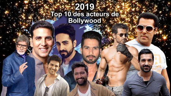 2019: Top 10 des acteurs de Bollywood