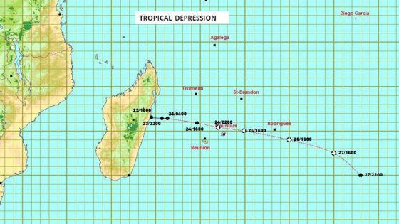 Tempête Diane : Maurice passe en alerte cyclonique 3