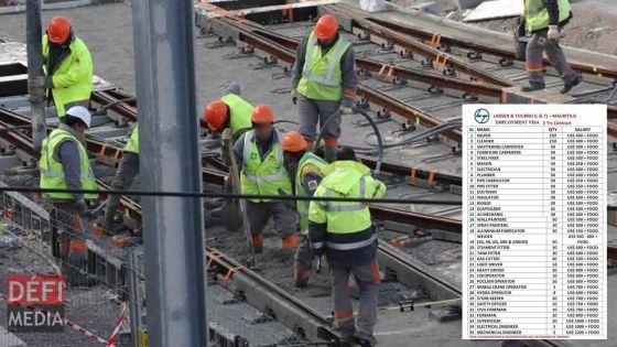 Fake news : un document portant sur les postes et salaires des ouvriers de L&T à Maurice fait le buzz